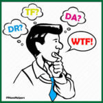 Man wondering what the authority acronymns DR, TF and Da mean in regards to website authority