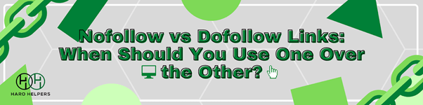 No follow vs follow links why you should use both